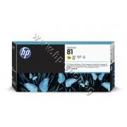 Глава HP 81, Yellow, p/n C4953A - Оригинален HP консуматив - печатаща глава