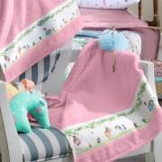 Toalha De Rosto Infantil Altenburg -Mundo Kids Reino das Cores