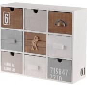 Home Styling Collection Skříňka - úložný box se 9 zásuvkami