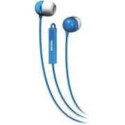 HEADPHONES, MAXELL EC-MIC, Microphone, Blue