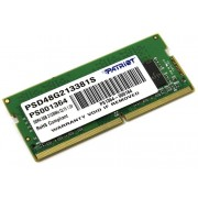 Модуль памяти Patriot Memory DDR4 SO-DIMM 2133MHz PC4-17000 - 8Gb PSD48G213381S