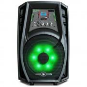 CAIXA DE SOM AMPLIFICADA 80W Bluetooth USB SD FM RCA C/ CONTROLE REMOTO
