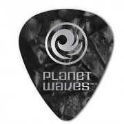 Planet Waves 100 Pack Celluloid Standard Medium Guitar Picks Black Pearl