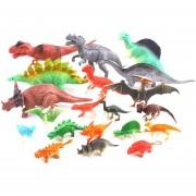 20 piezas Juguetes modelo de dinosaurio Simulación El plastico