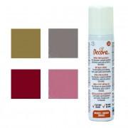 Decora Spray comestible metalizado de colores de 75 ml - Decora - Color Dorado