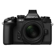 OM-D E-M1 - Black - 12-50mm Olympus E-M1 OM-D Systeemcamera, 16 megapixels, 7,6 cm (3 inch) TFT-display, Full HD, HDR, 5-assige beeldstabilisator, incl. kit M.Zuiko Digital ED, objectief 12-50 mm, zwart