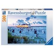 Puzzle Seara la plaja, 500 piese