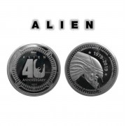 Moneta Alien - 40th Anniversary - Argento Edizione - FNTK-AL118