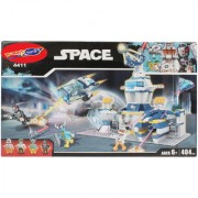 Planet of Toys 404 Pcs Space Building Blocks Set For Kids Children