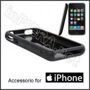 Guscio in gomma siliconica per Apple iPhone 3 - cover
