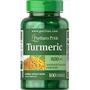 turmeric - curcuma 800 mg mg 100 capsules
