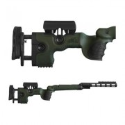 Grs Riflestocks Tikka T3/X Warg Stocks - Tikka T3/X Warg Stock Green