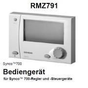RMZ791 - EIB KNX Bediengerät, Synco 700, RMZ791