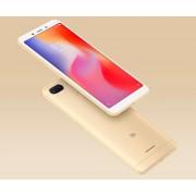 "Smartphone, Xiaomi Redmi 6, DualSIM, 5.45"", Arm Octa (2.0G), 3GB RAM, 32GB Storage, Android, Gold (MZB6363EU)"