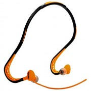 Iremax Remax Cuffie Auricolarein-Ear Headphones Sports Con Microfono Rm-S15 Universale Orange Per Modelli A Marchio Doro