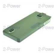 2-Power Laptopbatteri Dell 11.1v 4600mAh (312-0336)