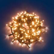 e-Led Light Catena 240 luci LED Reflex Bianco Caldo a Batteria per interno/esterno con controller memory