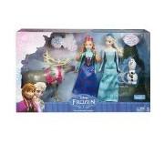 Disney Frozen Exclusive Doll Set Friends Collection [Anna Elsa Olaf & Sven]