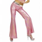 Rózsaszín hologramos nadrág M méret