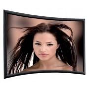 Telas de Projeção Rigidas 267x157cm 16:9* Ecrã Curvo Vision White Pro Profissional Adeo