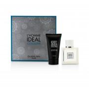 Guerlain L'Homme Ideal Cologne Coffret: Eau De Toilette Spray 50ml/1.6oz + Shower Gel 75ml/2.5oz 2pcs