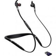 Jabra Telefonní headset s Bluetooth bez kabelu Jabra Evolve 75e MS do uší černá