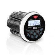 BOSS Audio MGR350B Marine Gauge Receiver - Bluetooth, Digital Media MP3 Player, (No CD Player), USB Port, AM/FM Radio, Weatherproof