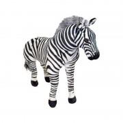 Zebra gigant din plus Melissa and Doug, 27 x 75 x 99 cm