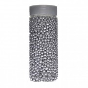 Golyó csillámos 4-8mm 475ml ezüst
