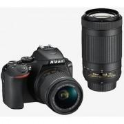 Nikon D5600 with AFP 18-55mm & 70-300mm VR Lens DSLR Camera
