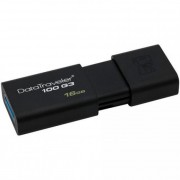 Pendrive, 16GB, USB 3.0, KINGSTON \DT100 G3\, fekete