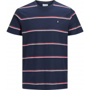 Jack & Jones Herringbone Crewneck T-Shirt, Total Eclipse 128