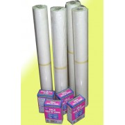 Fizelina tapeta sufitowa flizelina włóknina malarska 8x50mb + klej 1kg 8szt