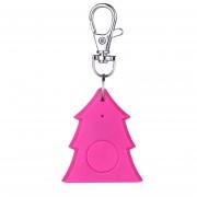 EW Forma de Árbol de Navidad Mini Bluetooth Smart Tag 4.0 Monedero Llavero Key Finder