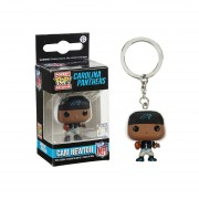 Funko Pop Cam Newton Carolina Panthers Supercam NFL Llavero