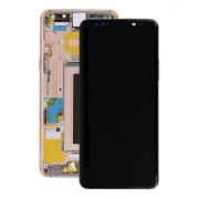 Estrutura para a Parte Frontal e Ecrã LCD GH97-21696E para Samsung Galaxy S9 - Dourado