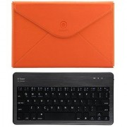 GGMM B-Typer Wireless Bluetooth Keyboard & 10Tablet Envelope Case for surface Pro (Orange/Black)
