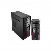 Gabinete AeroCool V2X Red Edition Ventilador USB 3.0-Negro