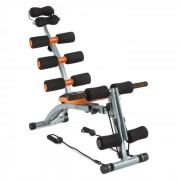 Capital Sports Sixish Core, оранжево / черно, тренировка на корем, тренировка на тялото (CSP3-Sixish Core)