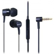 jaleri MH750 STEREO EARPHONES HANDSFREE WITH MIC 3.5MM Jack BLACK for sony mobiles