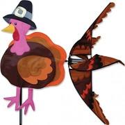 Autumn Thanksgiving Pilgrim Turkey Wind Spinner