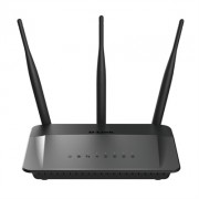 ROUTER WIFI D-LINK AC750 DUAL BAND - 2.4/5GHZ - 802.11 AC/N/G/B/A - WAN - 4X LAN - 3X ANTENAS - WPS - IDEAL STREAMING HD