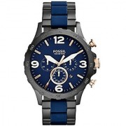 Fossil Nate Analog Blue Dial Mens Watch - Jr1494