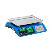Digital Weighing Scale - 40 kg / 2 g - dual LCD - raised edge