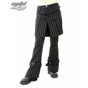 nadrág női ADERLASS - Skirt Pants Pin Stripe (Black-White) - A-1-13-050-01