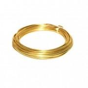 Drót lágy fém 2mm x 12m 100g arany
