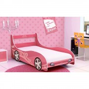 CAMA DE SOLTEIRO RALY CAR GIRLS