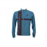 【セール実施中】【送料無料】長袖ジャージ 杢グレー チェレステクロス ユニセックス 長袖ジャージ 自転車ウエア kpls021 Celeste