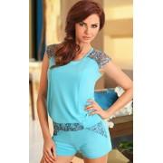 Mystiq piżama 267 (turkusowy)