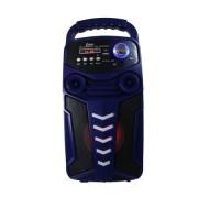 Boxa portabila Karaoke Wireless, cu functie Bluetooth, Port USB, Display LED, Radio FM, AUX IN, telecomanda inclusa,
